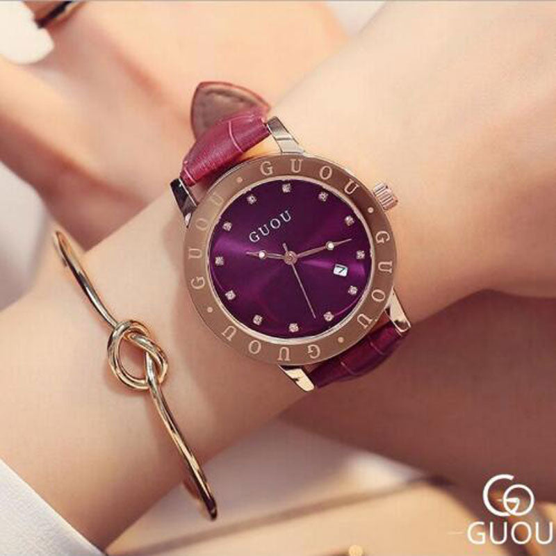 Guou Lux Watch - Lux Style Wrist