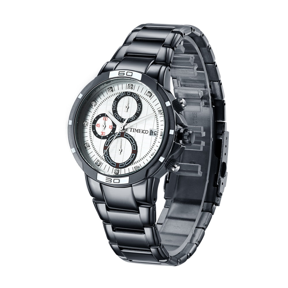 Stainless Steel Luminous Watch - Lux Style Wrist