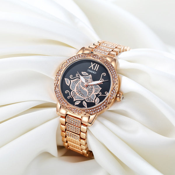 Luxury Fashion Quartz Watch - Lux Style Wrist