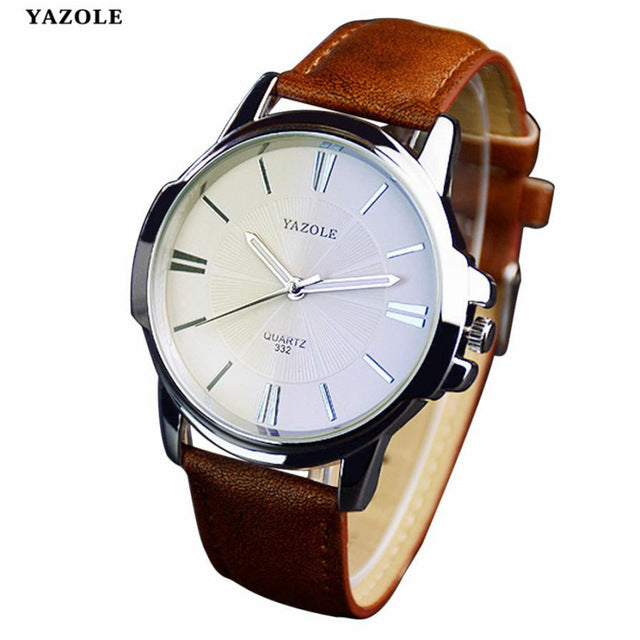 Mens Watch Luxury Stainless Steel - Lux Style Wrist
