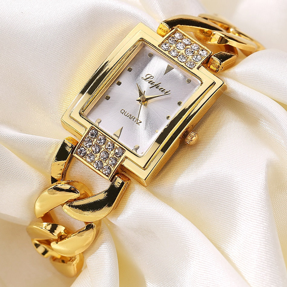 LVPAI Gold Bracelet Watches Women - Lux Style Wrist