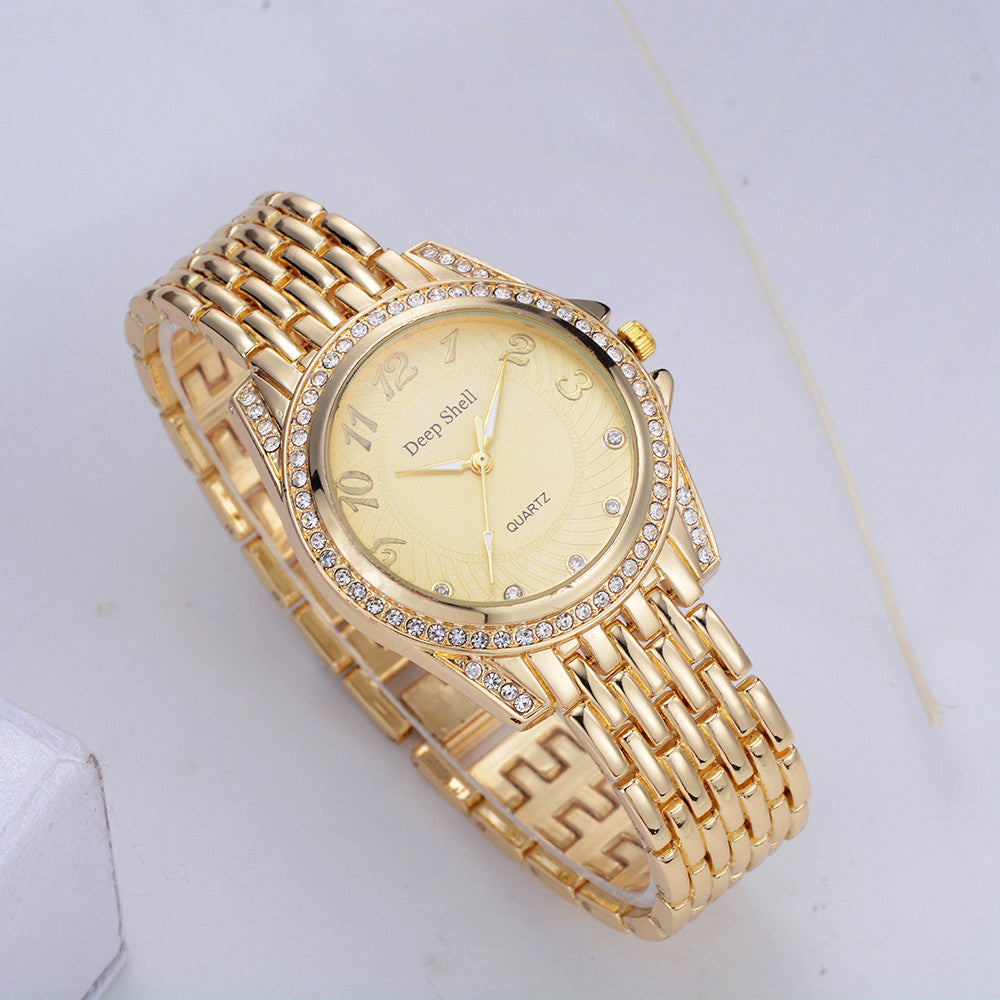 Crystal Diamond Women Watch - Lux Style Wrist