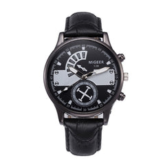 2Men Fashion Leather Watch - Lux Style Wrist