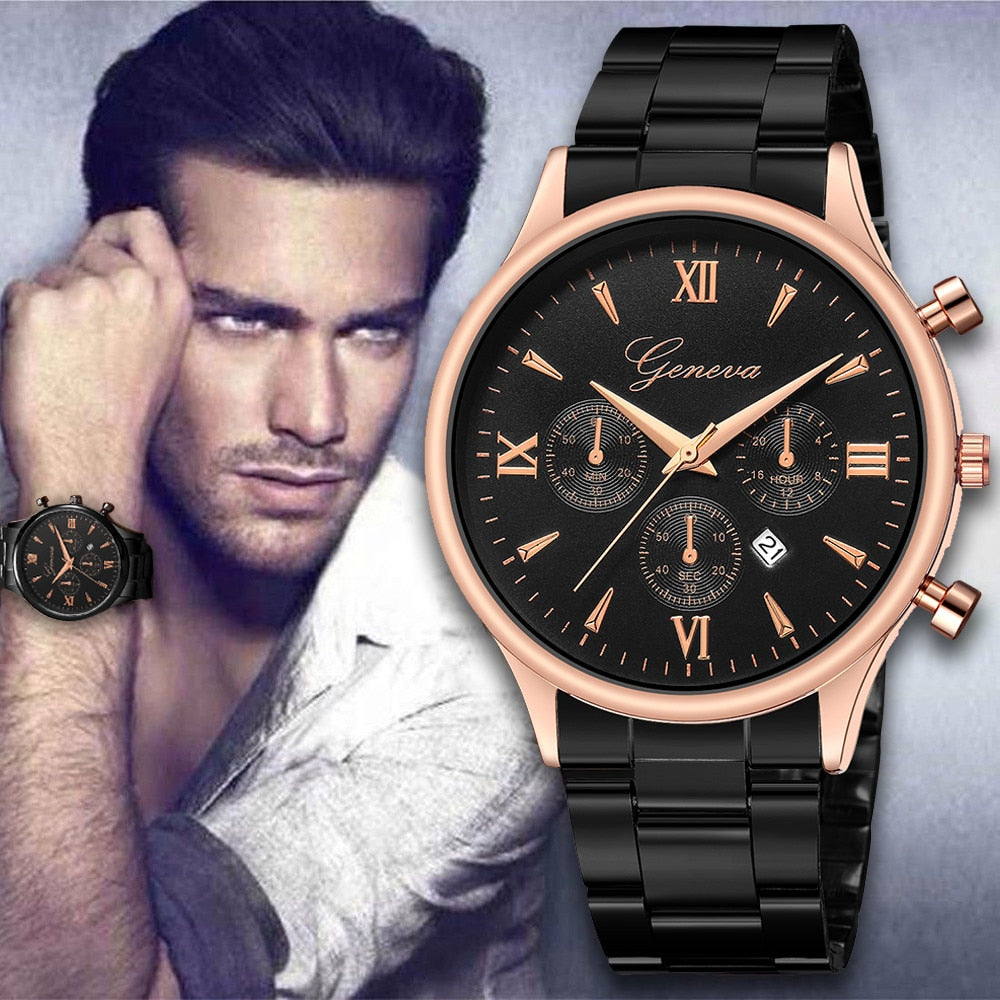 Business Watch Fashion - Lux Style Wrist