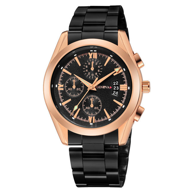Men Watch Day Date - Lux Style Wrist