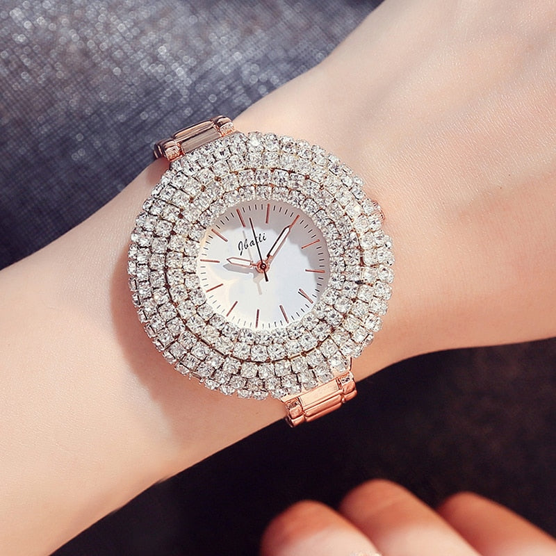 Luxury Rose Gold Quartz Watch - Lux Style Wrist