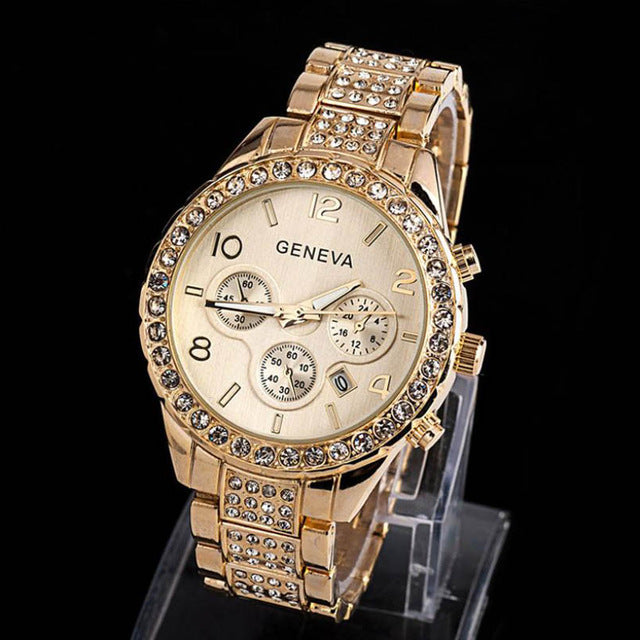 Geneva Women Fashion Watch - Lux Style Wrist