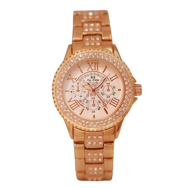 Luxury Quartz Watch - Lux Style Wrist