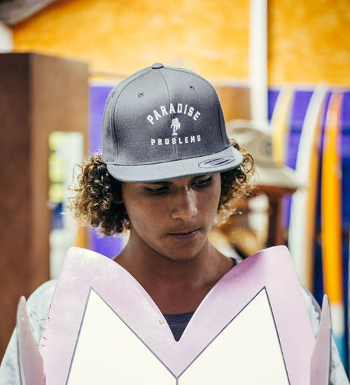 SNAPBACK - Paradise Problems - AURIC SURF