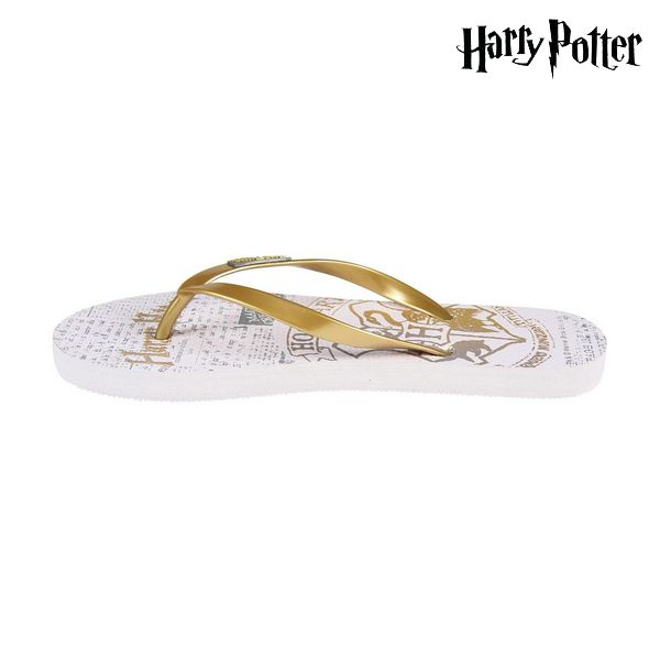 Ciabatte  da Donna Harry Potter 74426 Bianco Dorato