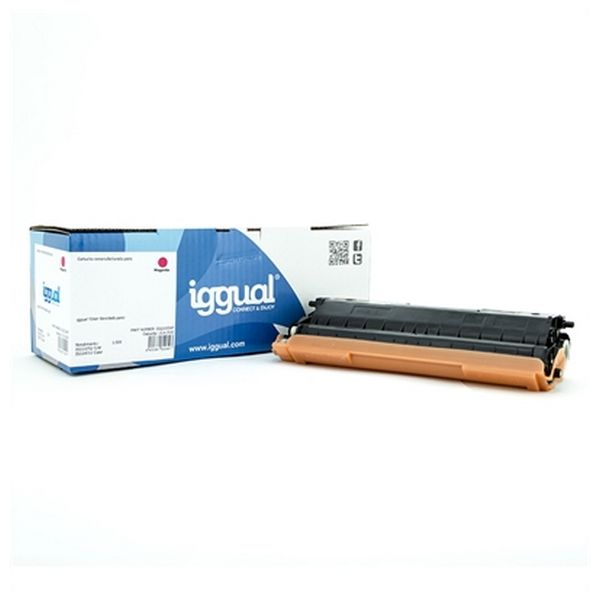 Toner Rigenerato iggual IGG315347 Brother TN-321M Magenta