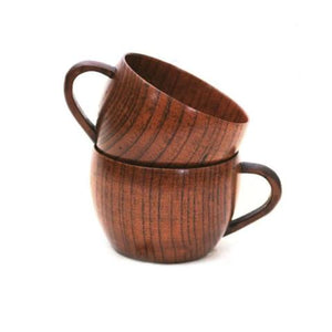 210ml Wooden Cup