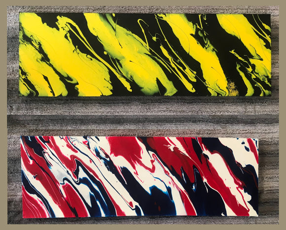 AFL Inspired Original Canvas - StephScalaArt