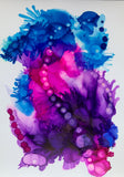 A4 Original Alcohol Ink - StephScalaArt