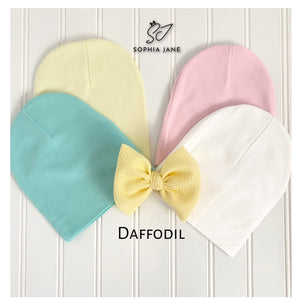 Infant BowBeanie 0-6 month