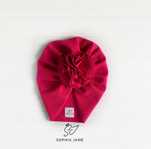 Twisted Turban: HOT PINK