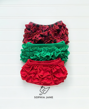 Holiday RuffleBlooms