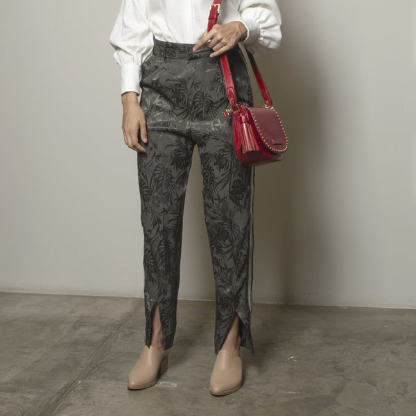 Palm Jacquard Pants