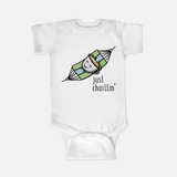 Just Chaillin' - Baby Onesie