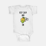 Keep Calm and Keri On - Baby Onesie