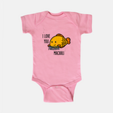 I love you this Machhli - Baby Onesie