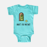 What's the Mattar - Baby Onesie