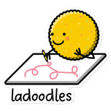 Ladoodles - Sticker