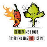 Dhaniya Wish - Sticker