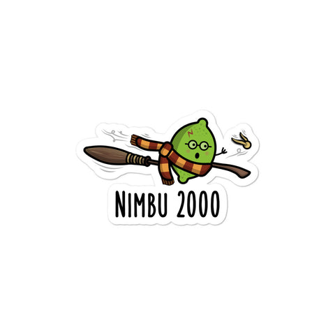 Nimbu 2000 - Sticker