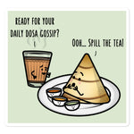 Daily Dosa Gossip - Sticker