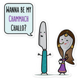 Wanna be my Chammach Challo - Sticker