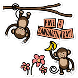 Have a Bandarful Day - Sticker