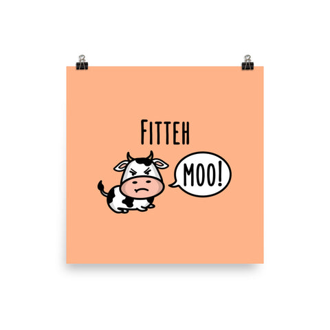 Fitteh Moo - Art Print