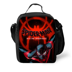 2019 Spider Man 3D Pattern Boys Large Capacity Lunch Bag
