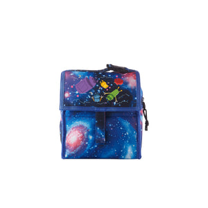 2019  A Storybots Christmas Series Kids Galaxy Freezable Lunch Bag with Zip Closure For School
