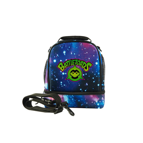 2019 Battletoads Logo Kids Two Compartment Galaxy Lunch Bag