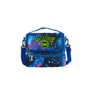 2019 Battletoads Logo Two Compartment Galaxy Lunch Bag
