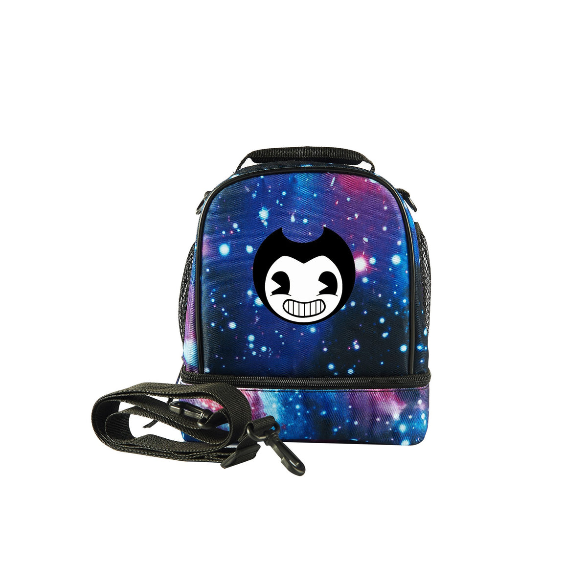 b1e84d077cd0 2019 Bendy And The Ink Machine Logo Kids Two Compartment Lunch Bag