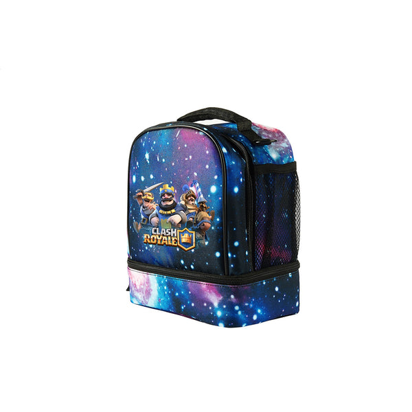 2019 Clash Royale Logo Fashion Two Compartment Foldable Lunch Bag For School