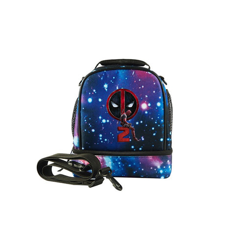 2019 Deadpool 2 Logo Kids Fashion Two Compartment Lunch Bag
