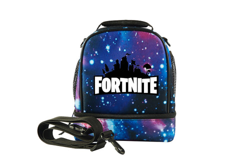 2019 Fortnite Logo Two Compartment Lunch Bag