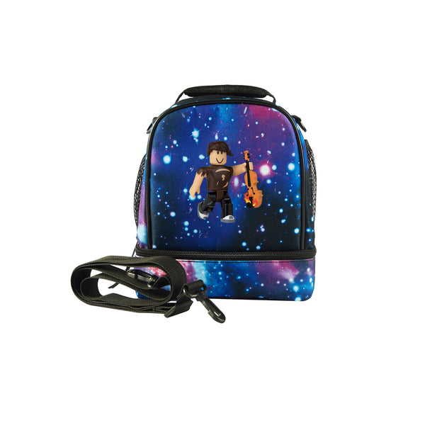 2019 Hard Times Henry Roblox Boys Two Compartment Galaxy Lunch Bag