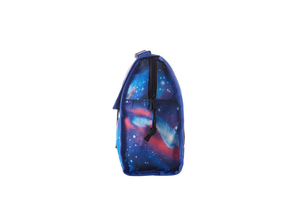 2019 Series Charlie's Colorforms City New Galaxy Freezable Lunch Bag with Zip Closure