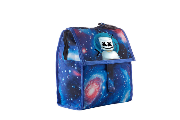 2019 Marshmello Boys Freezable Lunch Bag with Zip Closure