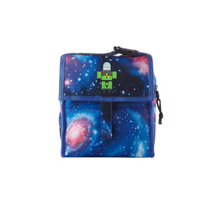 2019 Roblox Atomic Waste Logo Kids Galaxy Freezable Lunch Bag with Zip Closure
