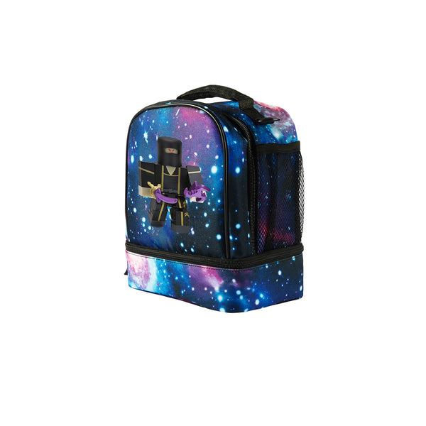 2019 Roblox Ninja Assassin Yin Clan Master Logo Kids Two Compartment Galaxy Lunch Bag