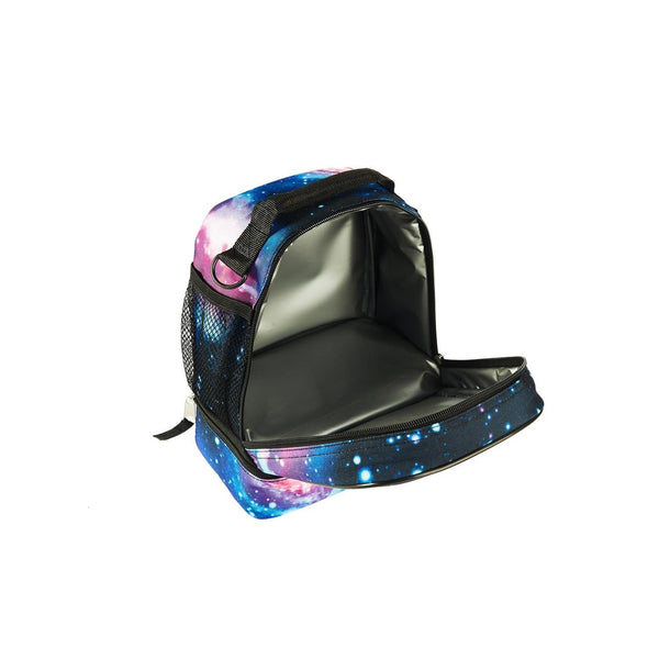 2019 Roblox Simbuilder Two Compartment Galaxy Lunch Bag