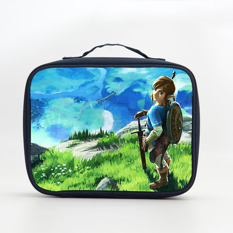2019 The Legend of Zelda Breath of the Wild Theme Insulated Lunch Box