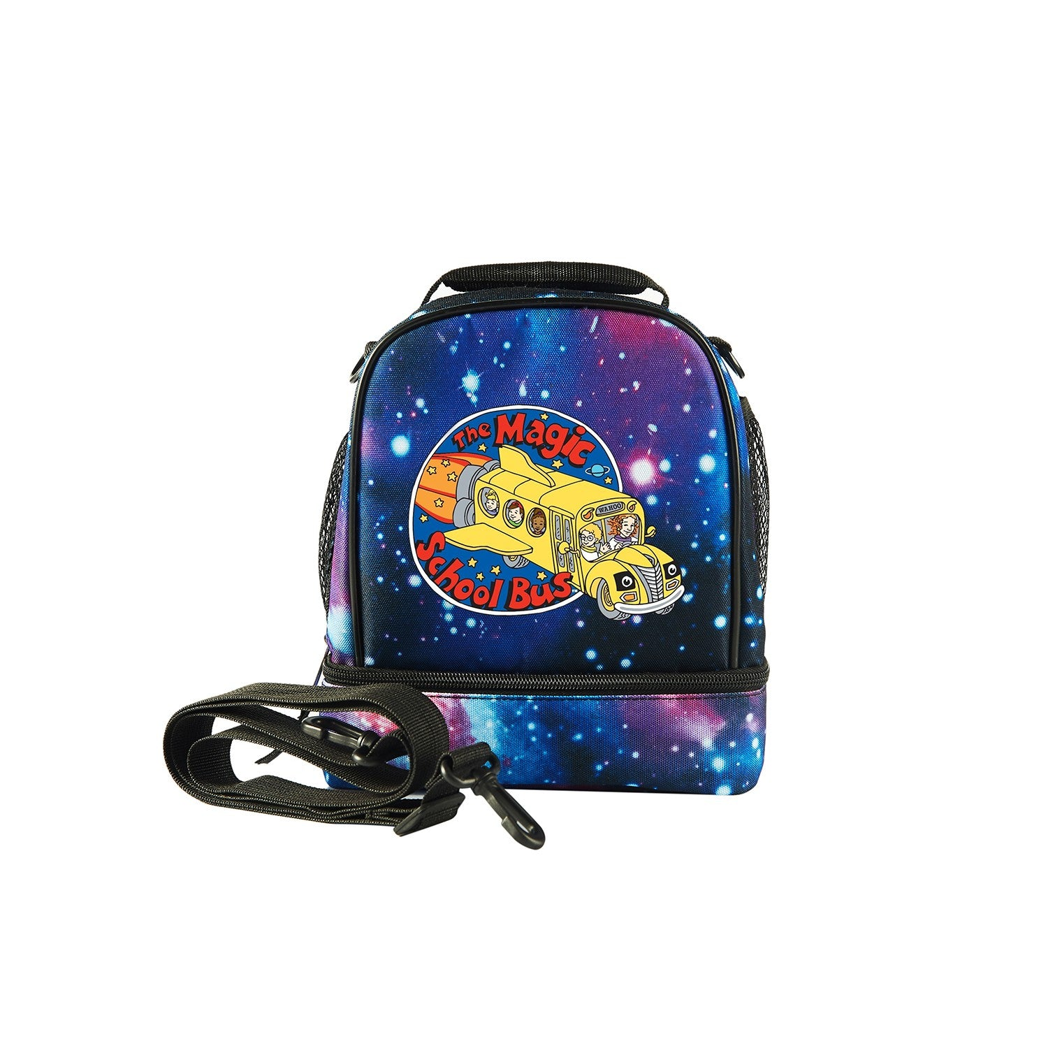 2019 The Magic School Bus Logo Fashion Two Compartment Foldable Lunch Bag