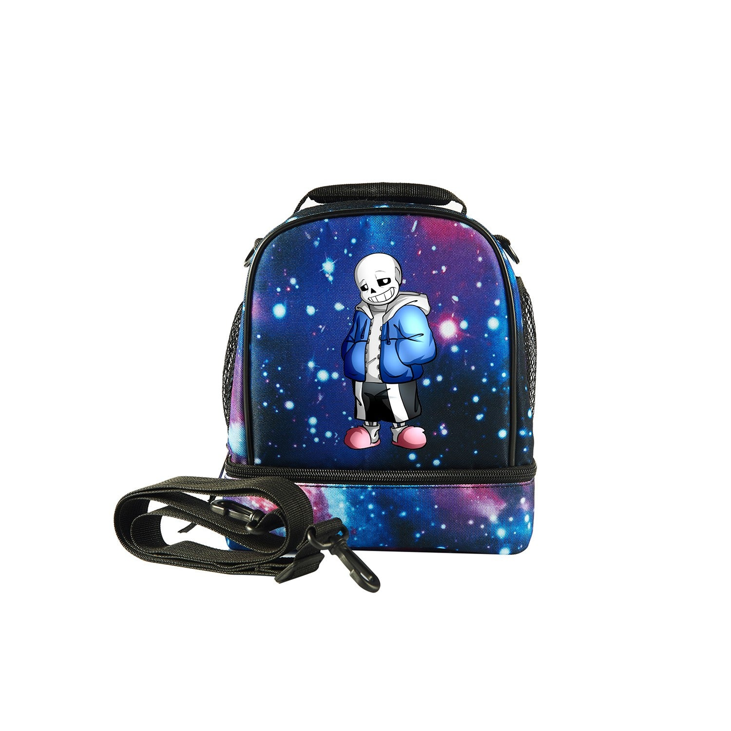 2019 Undertale Sans Logo  Two Compartment Foldable Lunch Bag
